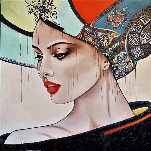 Sylvie ABADIE-BASTIDE - Gemälde - JULIANNA