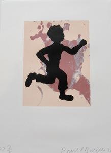 Donald BAECHLER - Print-Multiple - Running Man,