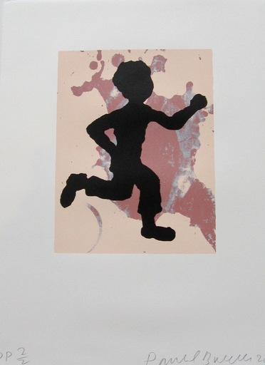 Donald BAECHLER - Print-Multiple - Running Man,