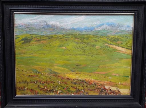 Mariano BERTUCHI NIETO - Painting - FERIA EN EL VALLE