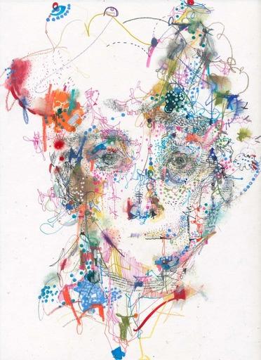 Michael ALAN - Drawing-Watercolor - Typical Poet