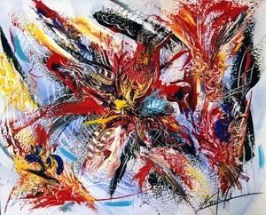 Didier ANGELS - Pintura - La délivrance