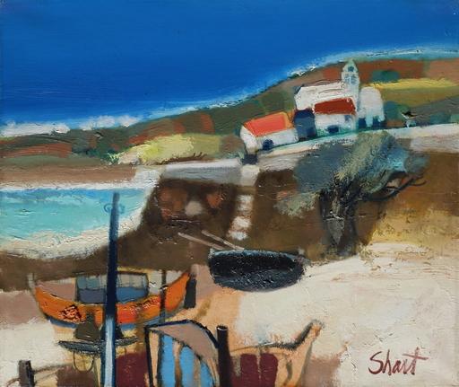 Serge SHART - Gemälde - Les barques