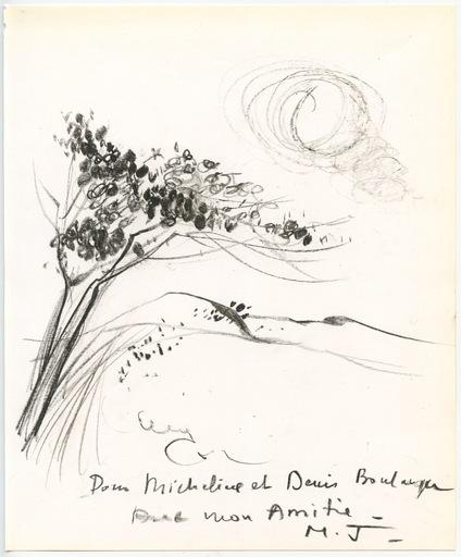 Michel JOUENNE - Dessin-Aquarelle - DESSIN AU CRAYON SIGNÉ MAIN M.J. HANDSIGNED M.J. DRAWING
