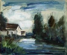 Maurice DE VLAMINCK - Painting - Sans titre