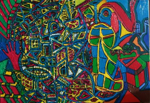 Walter SPRUYT - Pintura - Hot line