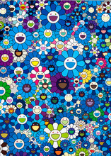 Takashi MURAKAMI (1962) - An Homage to IKB 1957 C