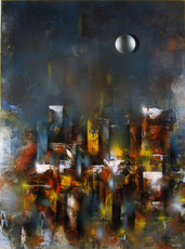 Leonardo M. NIERMAN - Painting - Ruins