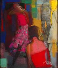 Irena LUSE - Pittura - The mobile communication 1