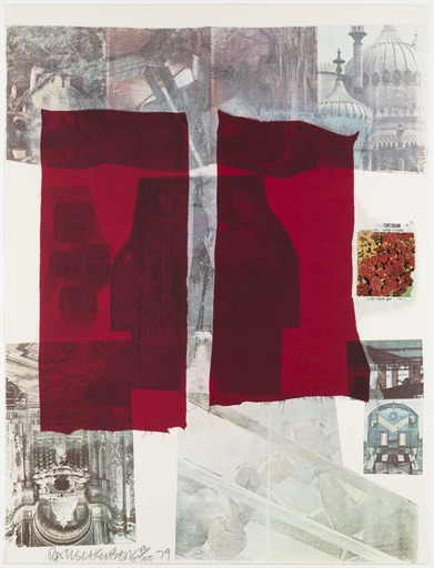 Robert RAUSCHENBERG - Stampa-Multiplo - Why You Can't Tell