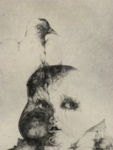 Hella ROST - Print-Multiple - L'ENFANT AU PIGEON