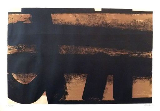 Pierre SOULAGES - Estampe-Multiple - Lithographie n°35