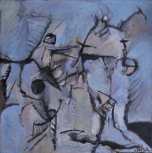 Réjane DE TASSIGNY - Painting - Si ! ...