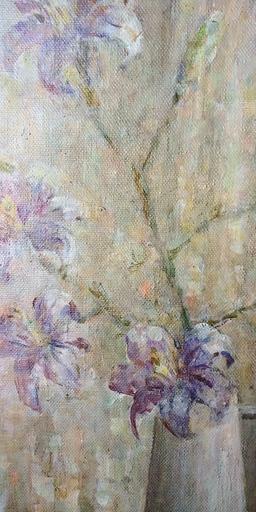 Tatyana PETROVA - Painting - Lilies
