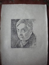 Giorgio DE CHIRICO - Grabado - Autoritratto