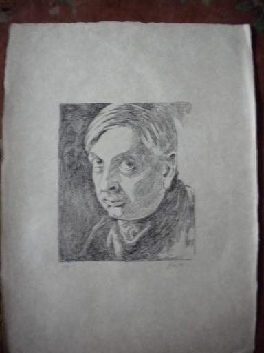 Giorgio DE CHIRICO - Stampa Multiplo - Autoritratto