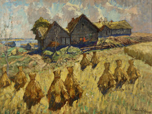 Konstantin Ivanovich GORBATOV (1876-1945) - After the Harvest