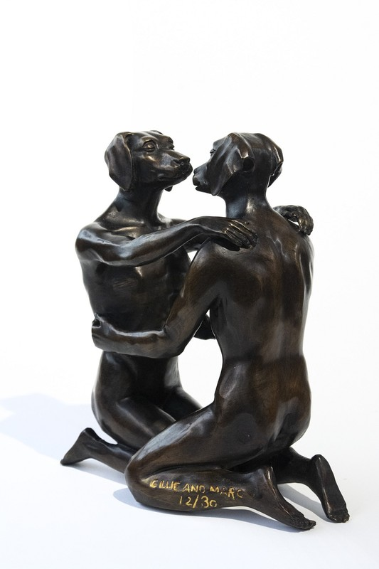 Gillie & Marc SCHATTNER - Skulptur Volumen - He loved being in love 12/30