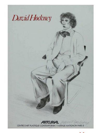 David HOCKNEY - Druckgrafik-Multiple - Gregory Evans pour Arcurial