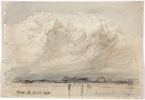 "Franz WINDHAGER - 水彩作品 - ""In Lido near Venice"""
