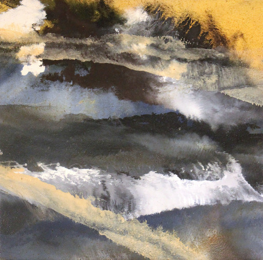 SUN RAN KWON - Pintura - sans titre