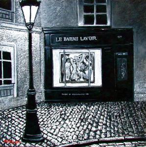 Carlo MAIOLINI - Peinture - Le Bateau Lavoir