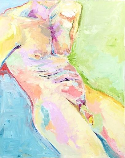 Nicole LEIDENFROST - Gemälde - Jüngling