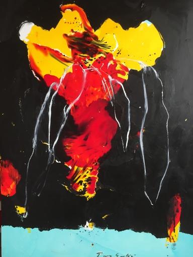 Tony SOULIÉ - Pittura - Dreamed Flower VII