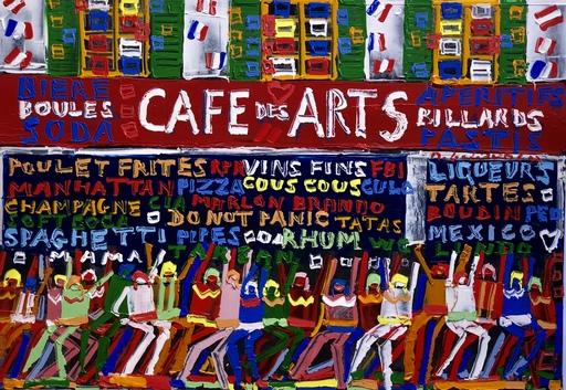 Michel GODJEVAC - Pintura - Café des arts