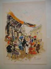 Urbain HUCHET - Grabado - Paris:La Capoulade,1985.