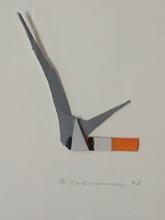 Tom WESSELMANN - Peinture - SMOKING CIGARETTE
