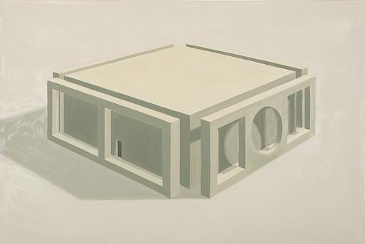 Thomas HUBER - Gemälde - Am Horizont XI