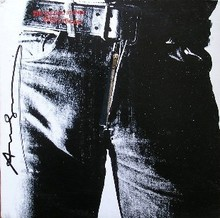 Andy WARHOL - Estampe-Multiple - Sticky fingers - Rolling Stones