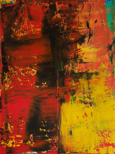 Harry James MOODY - Peinture - Abstract lalaland No.385