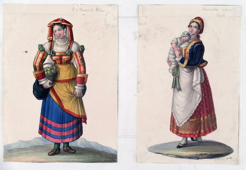 Michela DE VITO - Drawing-Watercolor - A PAIR OF GOUACHES