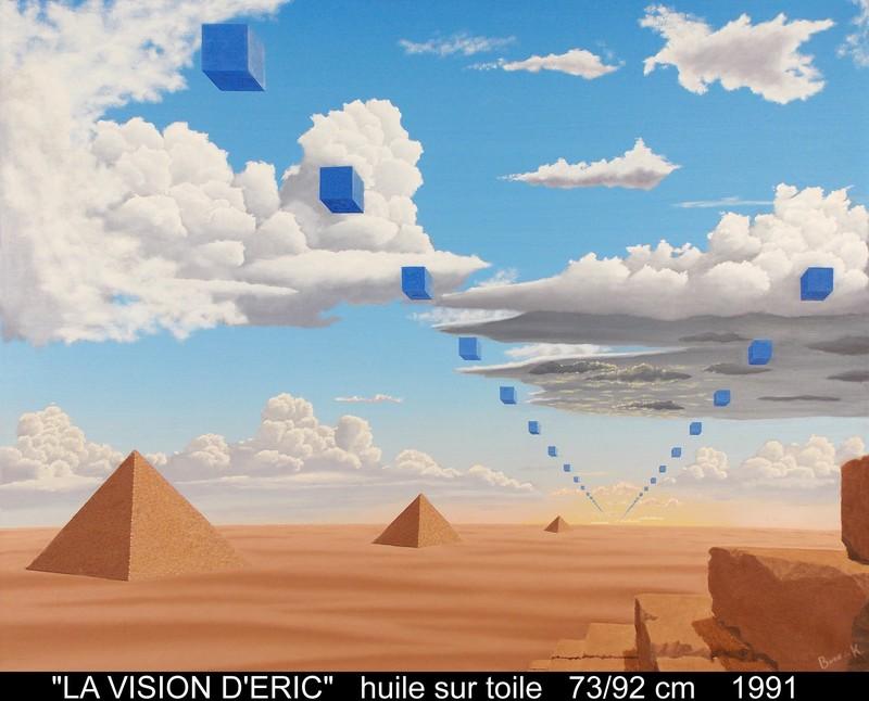 Boris KHELSTOVSKY - Painting - La vision d'Eric