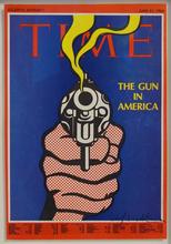 Roy LICHTENSTEIN - Stampa Multiplo - The Gun in America