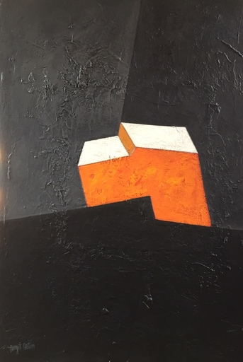 Irène DARGET-BASTIEN - Painting - SPIRIT ORANGE