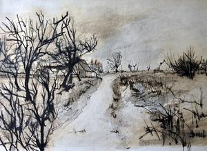 Philippe BUNEL - Dessin-Aquarelle - Paysage