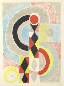 Sonia DELAUNAY-TERK - Print-Multiple - Totem