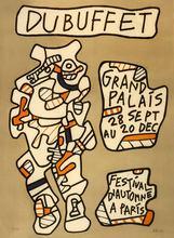 Jean DUBUFFET - Grabado - Festival d'automme a Paris, 1973