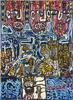 """Robert COMBAS - Pintura - Jesus is compagnie for the créole à """"2 contre 1"""""""