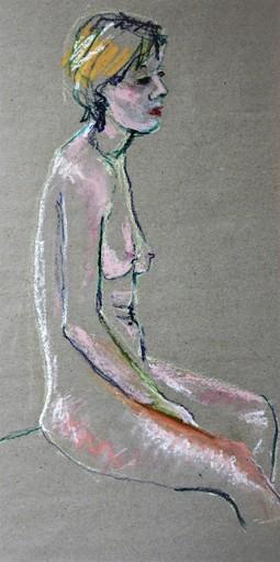 R.CAVALIÉ - Drawing-Watercolor - Douceur.