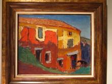 René SEYSSAUD (1867-1952) - la ferme vers Lille sur Auzon