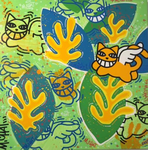 MONSIEUR CHAT - Painting