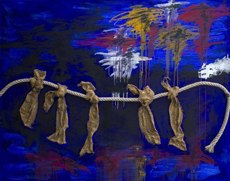 Daniel DESPOTHUIS - Peinture - Peinture No 123