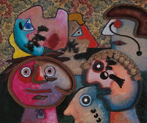 Enrico BAJ - Pintura - Personaggi