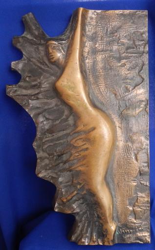 Imre VESZPREMI - Sculpture-Volume - Reclining