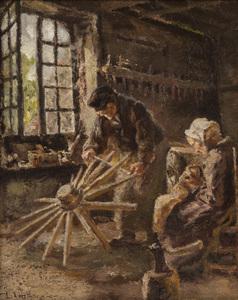 Léon Augustin LHERMITTE, Working Day