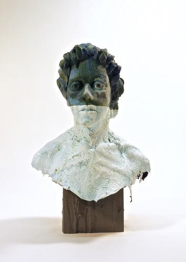 Nicholas CROMBACH - Sculpture-Volume - Jade